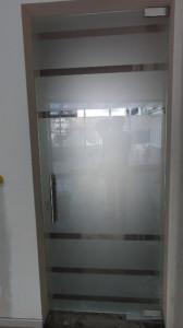 Врата от стъкло