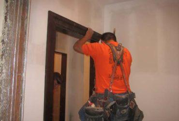 монтаж вътрешна врата