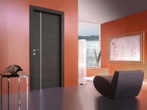 дизайнерска ламинатна врата във венге