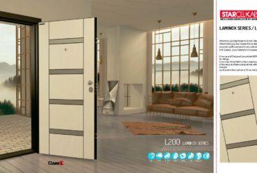 Блиндирана врата L200 на турския производител StarCelikKapi