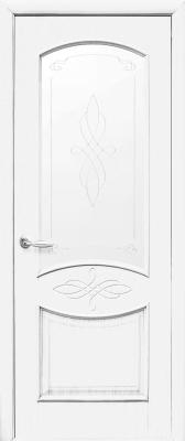 интериорна-врата-Дона-бяла-стъкло
