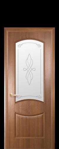 интериорна-врата-Дона-златна-елха-стъкло