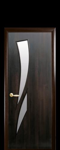 интериорна-врата-Камея-кестен-стъкло