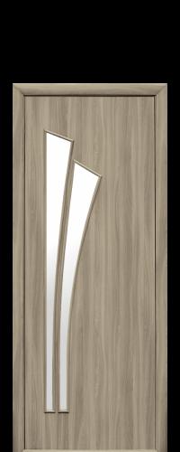 интериорна-врата-Лилия-златен-дъб-стъкло