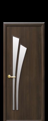 интериорна-врата-Лилия-кестен-стъкло