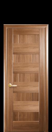 интериорна-врата-Пиана-златна-елха-плътно
