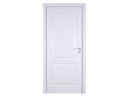 интериорна-врата-Фортис-бяло-плътно