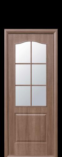 интериорна-врата-Фортис-златна-елха-стъкло